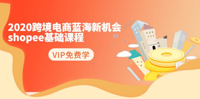 2020跨境电商蓝海新机会-shopee基础课程:简单粗暴日报爆千单